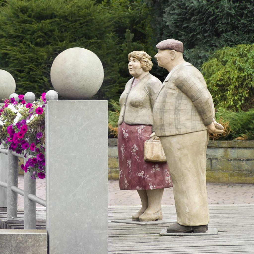 """Alltagsmenschen """"Franz & Wilhelmine"""""""