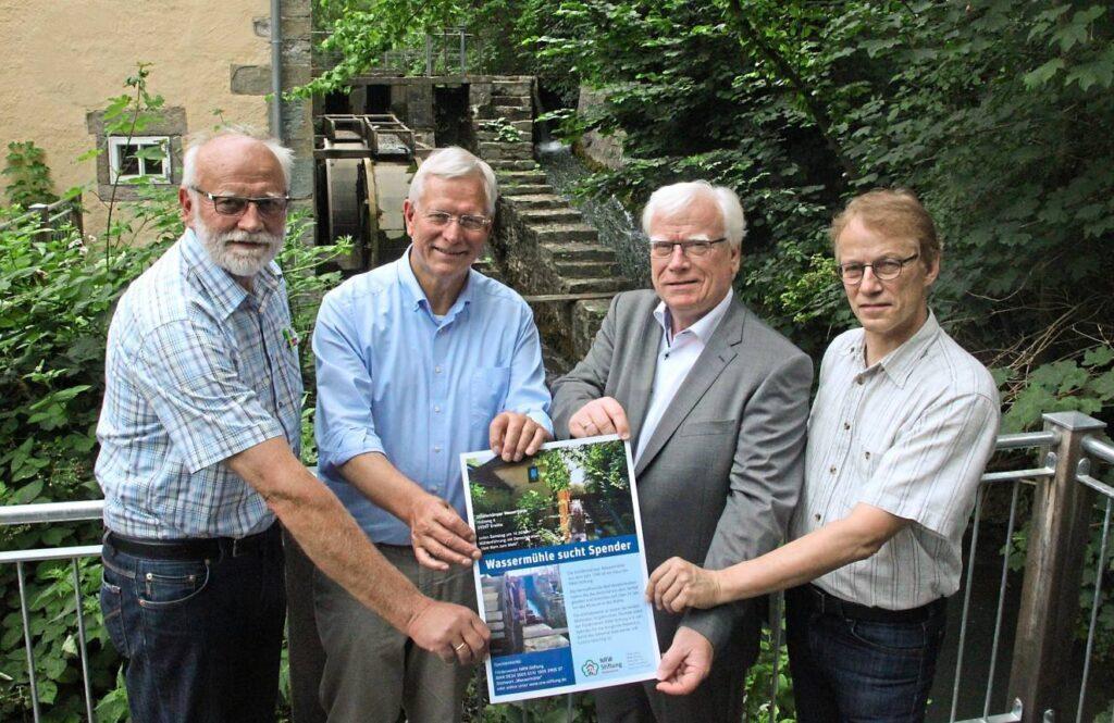 Renovierung der Wassermühle